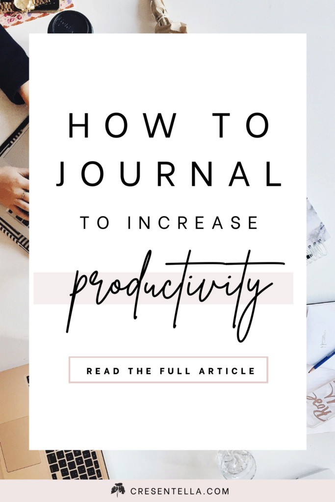 Do you want to be more productive? Have you tried all the productivity apps, read a lot of articles about productivity but nothing works for you? Well, I'm here to tell you now that all it takes is developing a journaling habit! Today, I'm going to share with you how to journal daily with interstitial journaling and literally be more productive at home! Click here to read the full article!