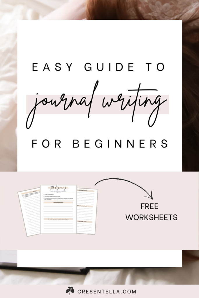 Want to know how to start a journal? Here's the easy + quick guide to starting journal writing today! In this post, you'll get lots of journal writing tips, topics, and ideas. Plus, you can grab your FREE journal worksheet to get started immediately! Sounds cool? Click here and read the article! │journal writing tips │journal writing ideas│topics for journal writing