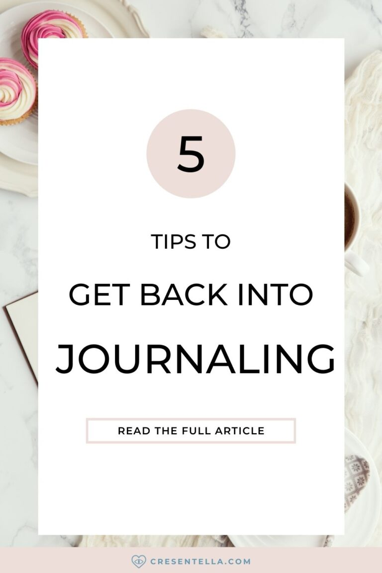 Getting back into journaling also demands effort especially if you took a break for months or even years. Sometimes, it depends on what is your reason for pausing. Identifying the reasons why you can't sustain your journaling habit is the first step to get back into journaling. In this article, I will reveal to you the five tips that helped me get back into journaling and make it my everyday habit! | how to get back into bullet journaling | how to get back into writing