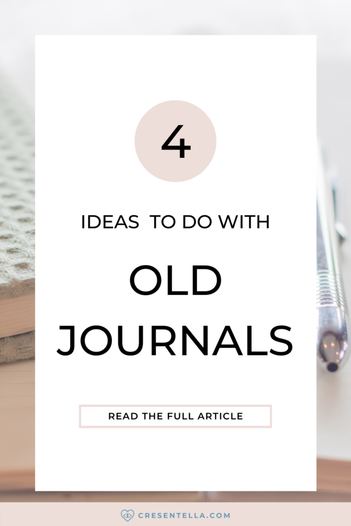 Are you keeping your journals for so long and don't know what to do with them? Or you're just wondering about what to do with old journals after you fill them? Here's a blog post where I talked about four different ways you can do with your old journals! As I tried to decluttered some things that don't spark joy in me at all, I decided to browse and look at the journals that I kept for a while. Here are some tips that you can do whether or not you decided to throw away your journals or keep them. Read the full article now!   what to do with old bullet journals   old journals what to do with   old journals what to do with