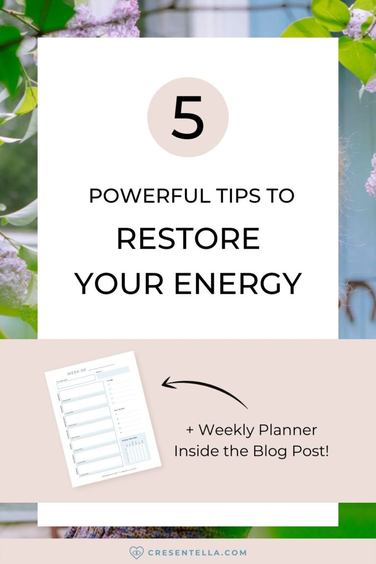 Do you feel tired and unmotivated? Feeling like your burning passion was gone? In this article, let's talk about why you feel dull and unmotivated. Is it really normal? What can you do about it? I will also help you plan your week to restore your energy, be more productive, and efficient! Read the blog to learn more!   raising vibrational energy   increase energy levels   how to protect your energy